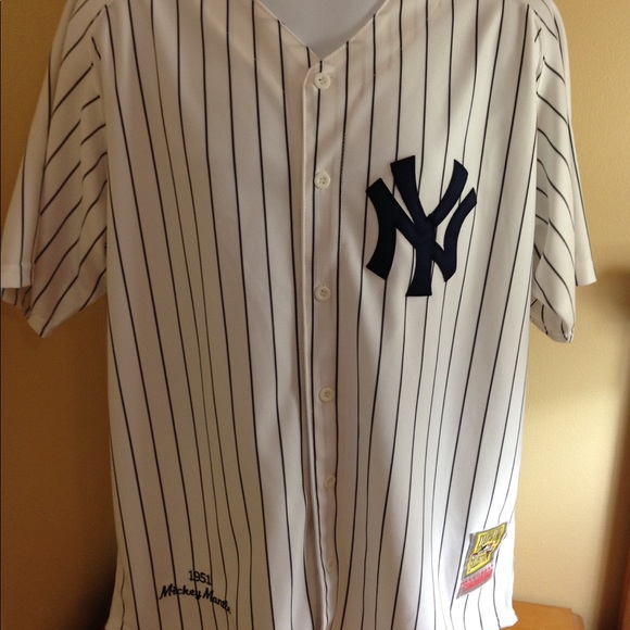 timeless design 25552 92842 New York Yankees Mickey Mantle Jersey XXL 52